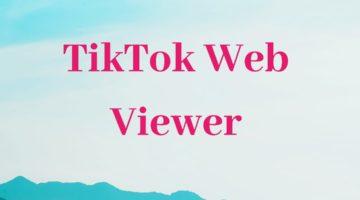 Tiktok viewer script